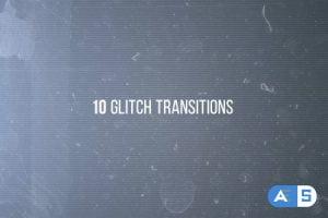 VideoHive 10 Glitches 11295365