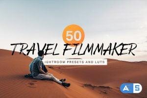 50 Travel Filmmaker Presets and LUTs