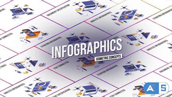 Videohive Infographics – Isometric Concept 27458616