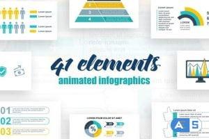 Videohive Infographics Vol.38 27462045