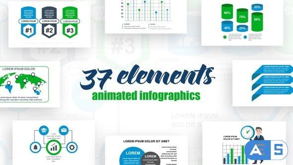 Videohive Infographics Vol.39 27462144