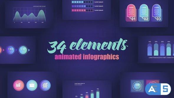 Videohive Infographics Vol.41 27462304