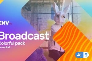 Videohive Broadcast ID Colorful Pack Mogrt 25656542