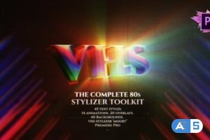 Videohive The Complete 80s Title Toolkit For Premiere Pro MOGRT 27243529