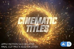 Videohive Cinematic Trailer Titles – Apple Motion 27422919