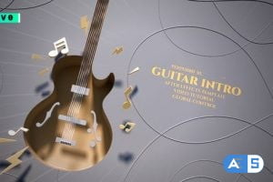 Videohive Guitar Intro 27420473