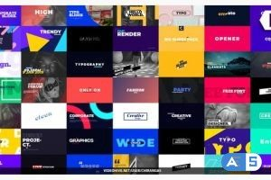 Videohive Essential Titles and Typography 23151881