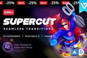 Videohive Transitions SuperCut V1.1 24022583