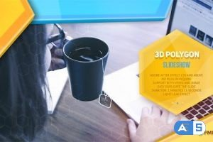 Videohive 3d Polygon Modern Slideshow 20504328