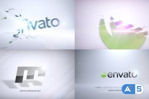 Videohive Crystal Flare Logo Stings 13990175
