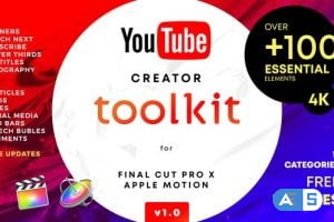 Videohive YouTube FCPX Creator Tool Kit V1 25022531
