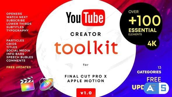 Videohive YouTube FCPX Creator Tool Kit V1 25022531