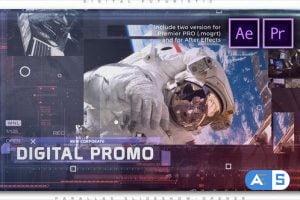 Videohive Digital Corporate Promo 27058732