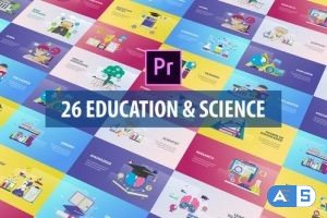 Videohive Education and Science Animation   Premiere Pro MOGRT 27223694