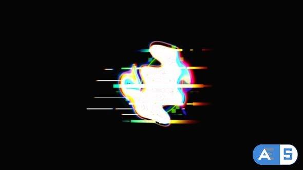 Videohive Glitch Logo 4K 26595289