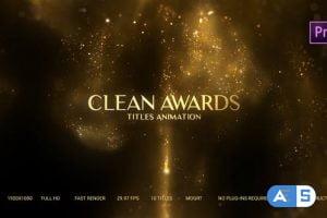 Videohive Golden Particles Award Titles – Mogrt 27480757