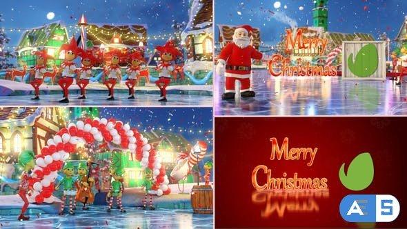 Videohive Christmas Parade 25005959