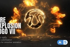 Videohive Fire Explosion Logo 2 26661054