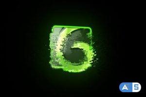 Videohive Fast Grunge Glitch Logo Reveal 24328126