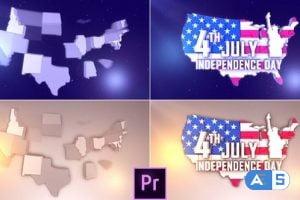Videohive USA Patriotic Logo – Premiere Pro 27089783