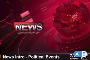 Videohive News Intro – Political Events 24253893