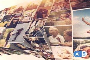 Videohive Photo Mosaic Slideshow 24015999