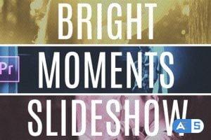 Videohive Bright Moments Slideshow MOGRT 27114076