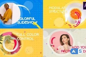 Videohive Colorful Slideshow | After Effects 27078817