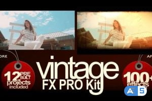 Videohive Vintage FX PRO Kit 27410543