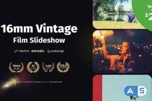 Videohive 16mm Vintage Film Slideshow 23816011