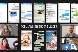 Videohive Popular Messenger Builder v3.0 1989391