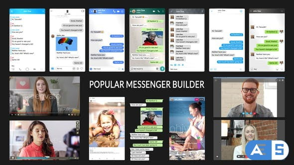 VIDEOHIVE POPULAR MESSENGER BUILDER V3.0 19770231