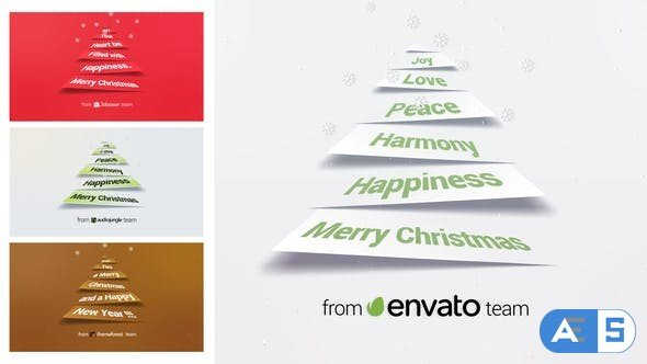 Videohive Corporate Christmas Logo and Message Animation 22862238