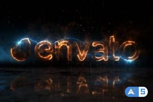 Videohive Fire and Lightning Logo 21311397