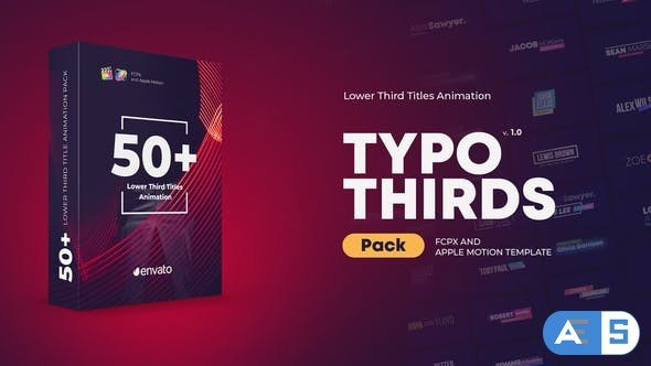 Videohive Lower Thirds Titles for FCPX 26707729