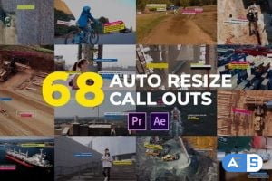 Videohive Auto Resizing Call-Outs l MOGRT for Premiere Pro 26423703