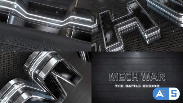 Videohive Epic Metal Neon Logo_v2 27184619