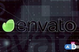 Videohive Grid Line Logo V2 22612915