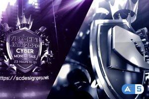 Videohive Metal Badge Logo 24955563