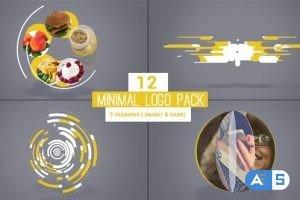 Videohive Minimal Logo Pack 19500511