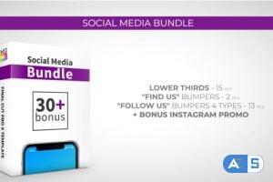Videohive Social Media Bundle 27060437