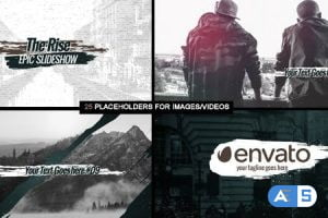 Videohive The Rise – Epic Sideshow 12695374