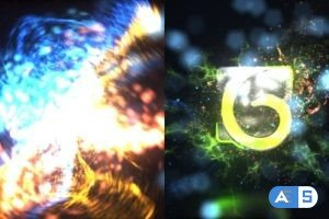 Videohive Particles Blast Logo Reveal 25607919