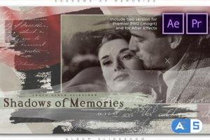 Videohive Shadows of Memories Album Slideshow 27456705