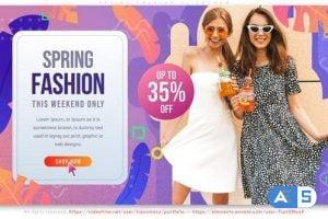 Videohive Spring Fashion Slideshow 27310179