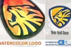 Videohive Watercolor Logo 26187089