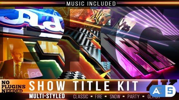Videohive Show Logo Intro Kit 24432116