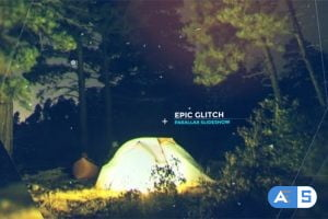 Videohive Epic Glitch Parallax Slideshow 20682135