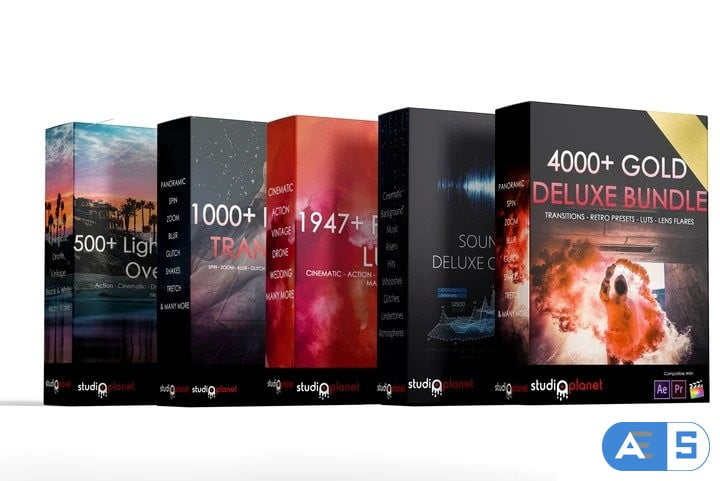 Studioplanet 4000+ Gold Deluxe Bundle Collection