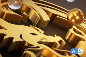 Videohive Pure Gold Logo Reveal 22695034